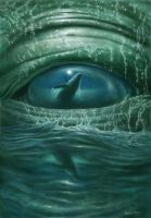 deep in the whales eye by malstrummer