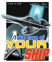 Take care of your ship|Star Trek by IrvinIS