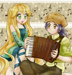 Music and Chord Dion --- Commission by chikorita85