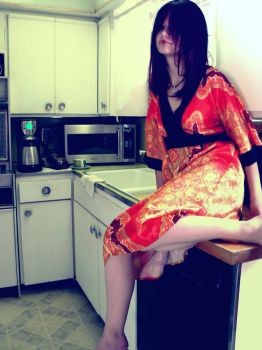 Kitchen Geisha. by ViciousTofu