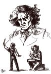 Sweeney Todd sketches by thornwolf