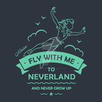 Fly with me to Neverland by MairaArtwork