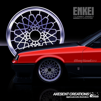 Enkei Turbo Mesh V2.0 Chrome by Axesent