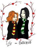 Lily and Snape spoiler by DaMuffinBiter