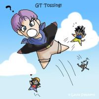 GT Tossing by lauraneato