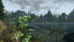 Lakes and Mountains by alrieice
