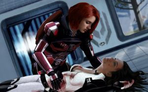 Mass Effect 3 - Miranda's death by ilLoGiG