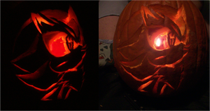 Shadow Pumpkin Entry by sonic-skywalker