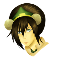 Toph Bei Fong attemp by xBurst-Out