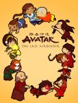 Avatar: The Last Chibi Bender by CuriouslyXinlove