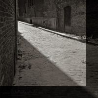 Cobbled Street by inshaala