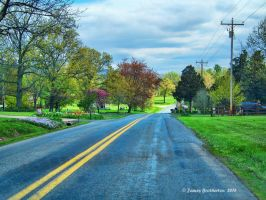 Back Road In The Spring by jim88bro