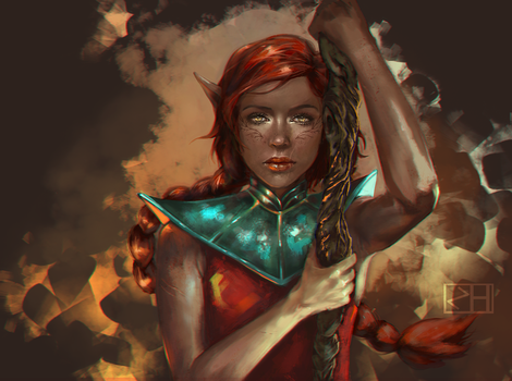 Lupita Lavellan by perditionxroad