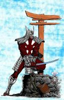 Silver Samurai   colab by CDL113