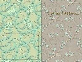 Spring Patterns by MrsLavender