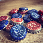 Nuka cola caps by zombiemarshmellow
