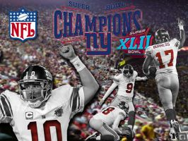 Super Bowl XLII NYG by NSuM