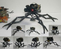 Spider Mecha by Dinuguan