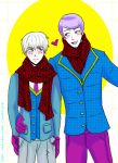 Tsukikane: Scarves by natersal