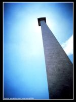blue sky upon monas by Giemax