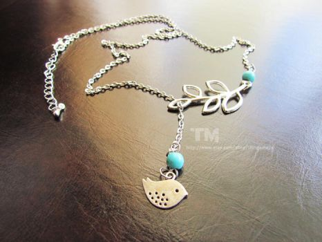 Bird Lover - A Necklace for all Bird Fans by thingamajik