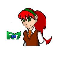 Betty Barret 13 years old by Rollster007