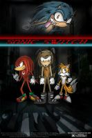 Sonic Switch Movie Poster by Comickpro