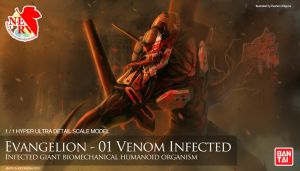 Evangelion-01 Venom Infected by undertheheaven