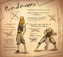 Baba's Journal - Cadavers by crusanite