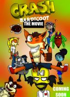 Crash Bandicoot The Movie (For a Commission) by WTHappened