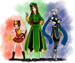 Touhou RPG Style: Fighter and Rogue by Tres-Iques
