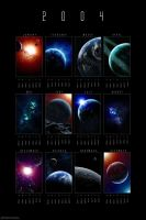 2004 Cosmic Calendar by dinyctis