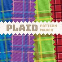 Plaid Pattern Maker (PSD) by falonyates