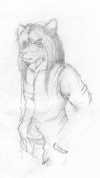 Korr pencil sketch by ChaserTech