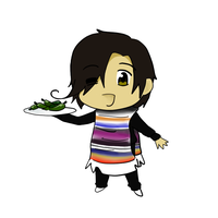 -APH- Chibi Mexico incomplete by ItzaDesign