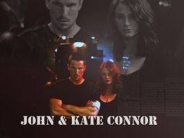 john and kate connor by lancelotfan