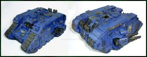 Darkmaker Land Raider by Proiteus