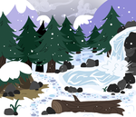 Arctic Hailstone's Pond home by MidnightSketches