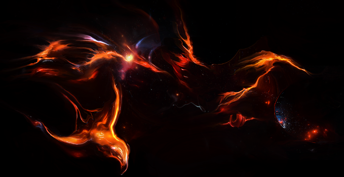wings on fire by shoesfx
