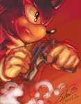 Shadow_ Crisis sketch by f-sonic