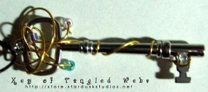Sold: Key of Tangled Webs by iamtequila