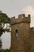 Warwick Castle Tower 1 by FoxStox