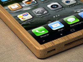 iPhone bamboo 10 by eco6org
