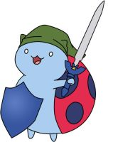 Catbug as Link by GamerGirl84244