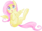 Cute Fluttershy by Cyahna