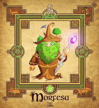 The Four Fairy Masters: Morfesa by travellustrator