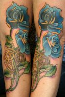 Celtic Roses by Phedre1985