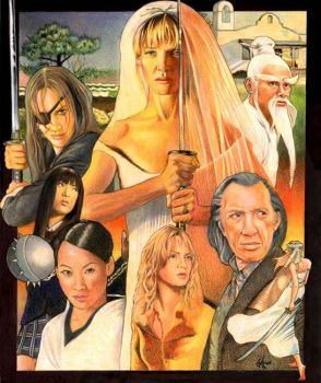 Kill Bill-The Bride by choffman36