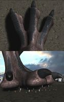 Spino Paw by Spino2006
