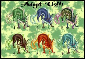 Swamp Spirit Adopts by AeternaAdoptables